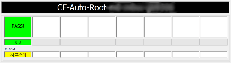 CF-Auto-Root Pass Message