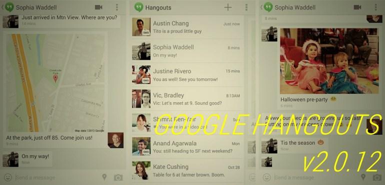 Download Google Hangouts APK v2.0.12