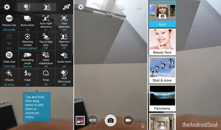 Galaxy S5 Lollipop Update Camera