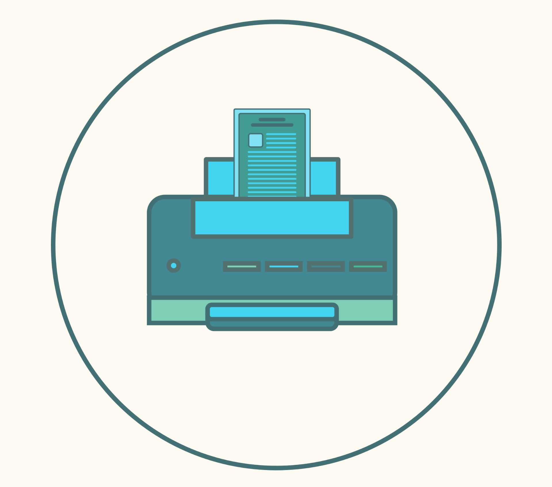 How to scan a document and save online