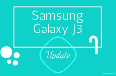 Samsung Galaxy J3 Update