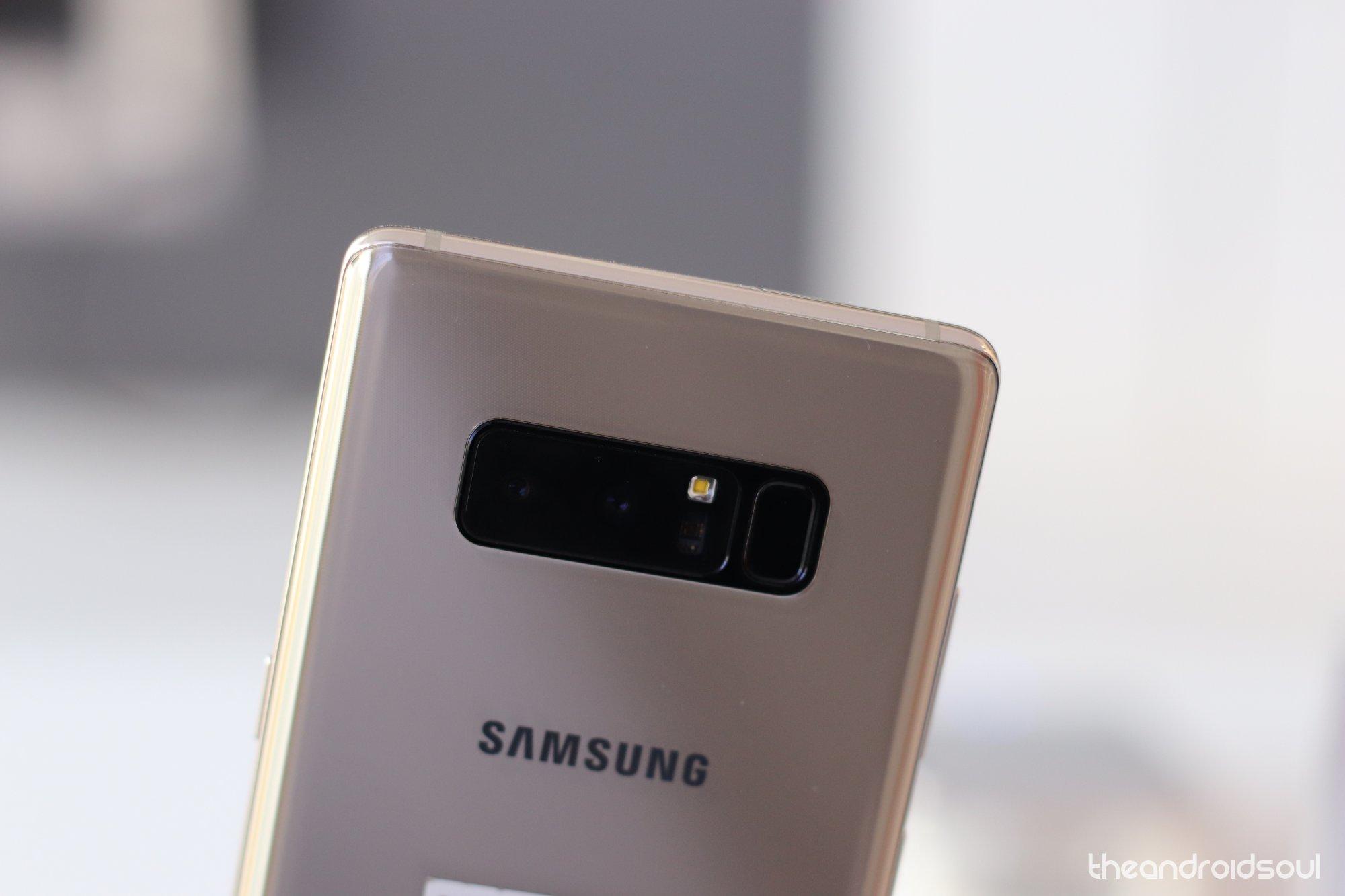 Samsung Galaxy Note 8 update