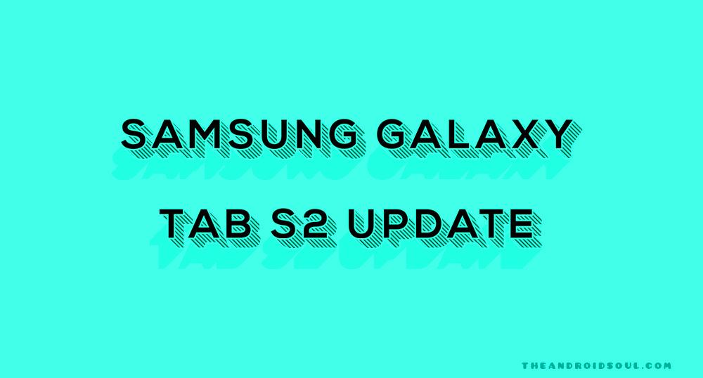 Galaxy Tab S2 Oreo