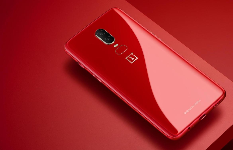 lava red OnePlus 6