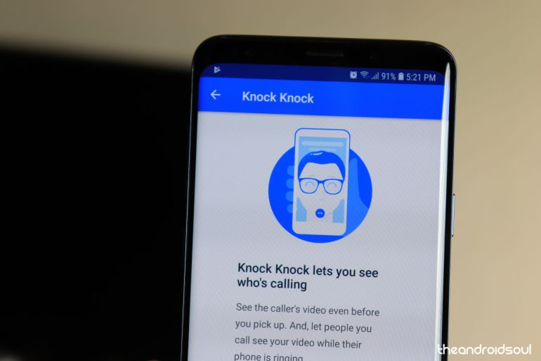 Google Duo knock knock