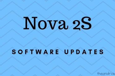 Huawei Nova 2S software updates