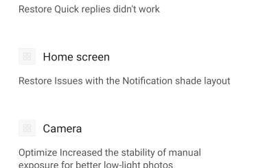 Xiaomi Mi MIX 2S update