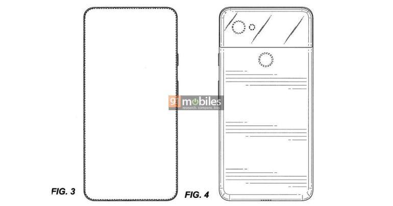 Google Pixel 4 patent