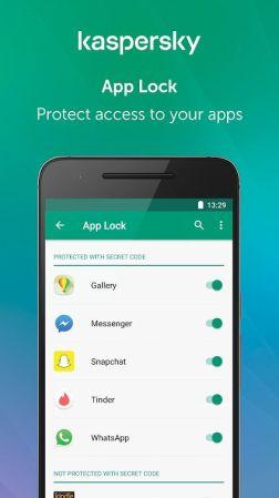 Kapersky Anti-theft app 2