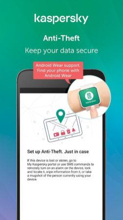 Kapersky Anti-theft app 3
