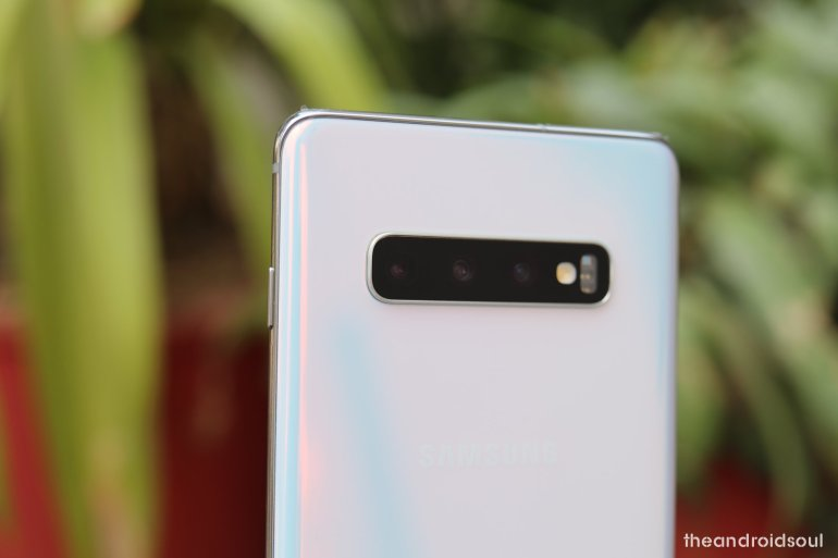 Galaxy S10 Plus, S10, and S10e update