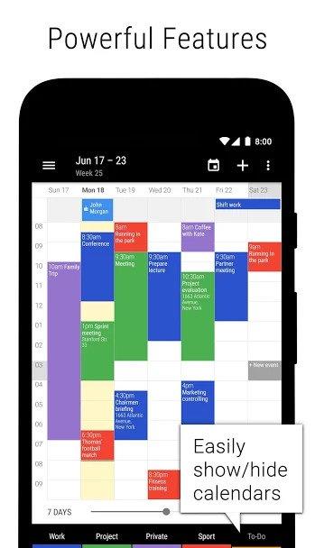 business calendar 2 2