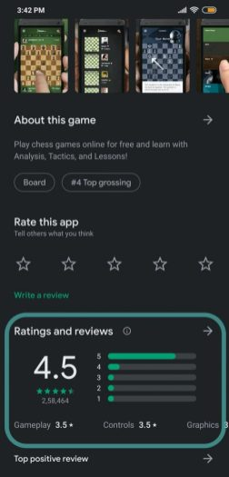 the right app from the Play Store-d