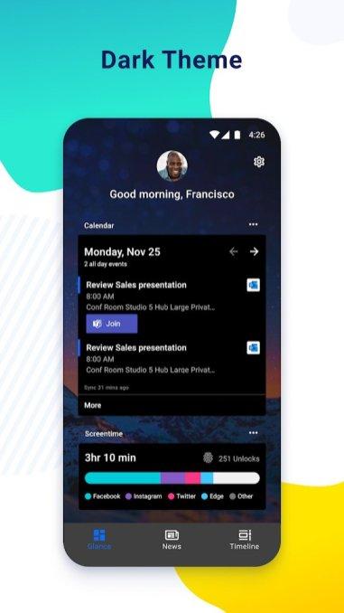 Microsoft Launcher Preview 2