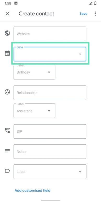 Add contacts on Googlr-17-a