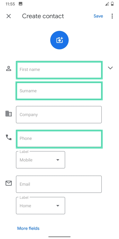 Add contacts on Googlr-8-a