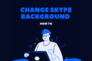 Change and Add Skype Background