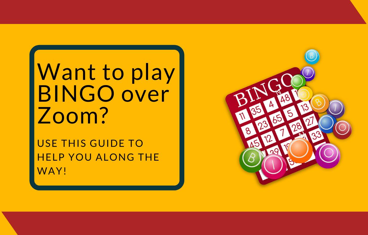 Bingo Over Zoom