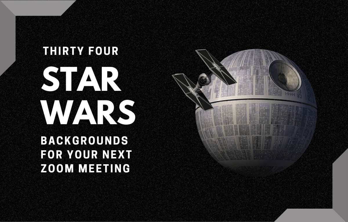 30 Official And Unofficial Star Wars Virtual Backgrounds For Your Next Zoom Meeting