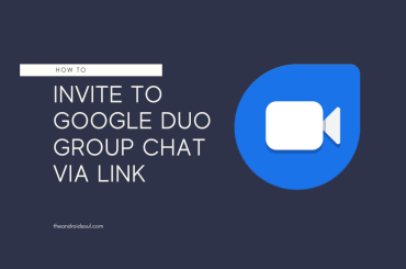 invite to Google Duo group chat via link