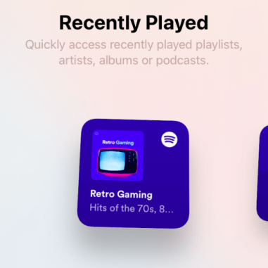 How to get Spotify widget on iOS 14-9-a