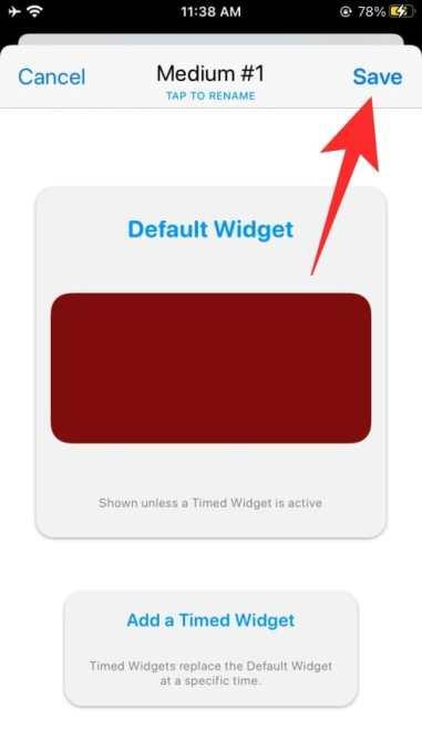 How to use Widgetsmith-52-a