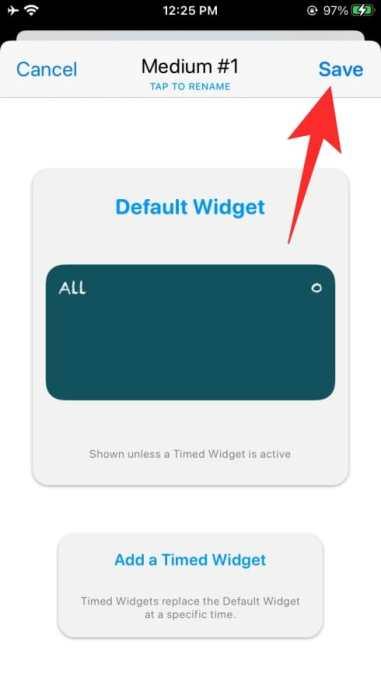 How to use Widgetsmith-67-a
