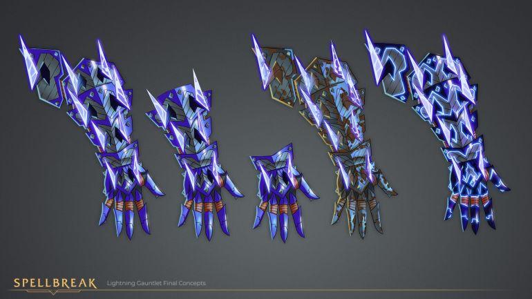 Spellbreak Lightning Gauntlet