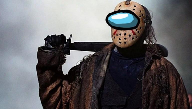 Among Us Jason mask