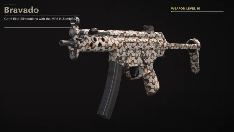 Black Ops Cold War Zombies Camo Challenges - Bravado