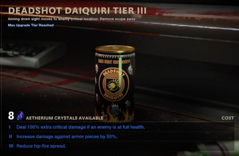 Where is Deadshot Daiquiri in Black Ops Cold War