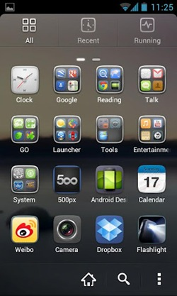 GO Launcher EX  for android2
