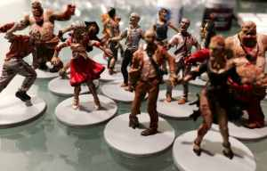 A beginner's Guide to painting miniatures (Zombicide).