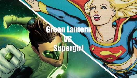 Who Wins It? Green Lantern vs. Supergirl