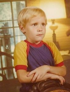 Me, just a few years before I would become a monster.