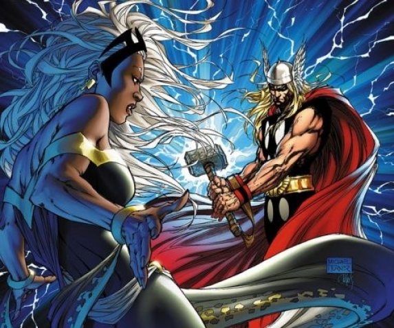 Storm versus Thor