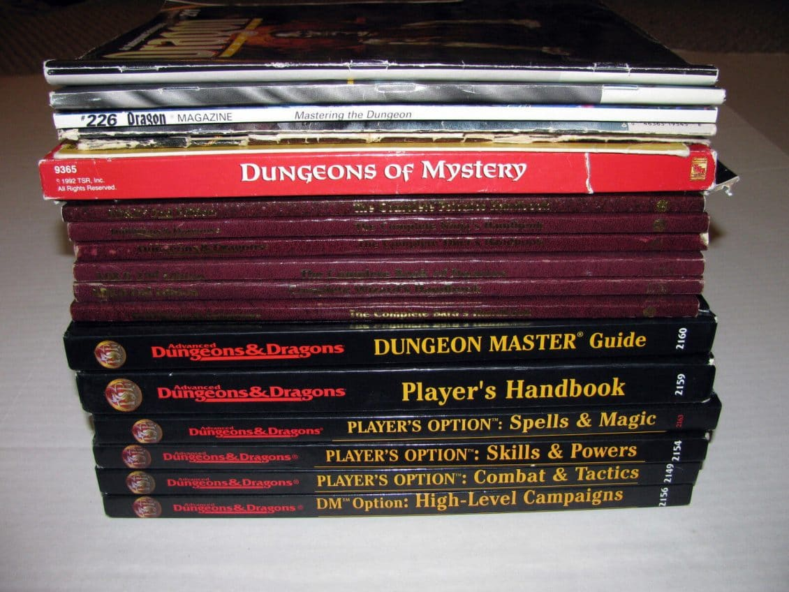 A Brief Primer on the Different Editions of Dungeons and Dragons