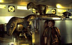 Velociraptors –Jurassic Park