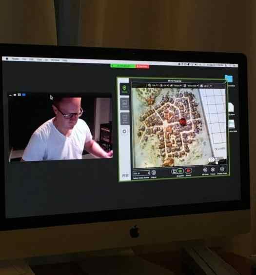 long distance gaming computer screen