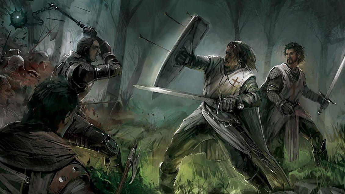 crusader arming sword