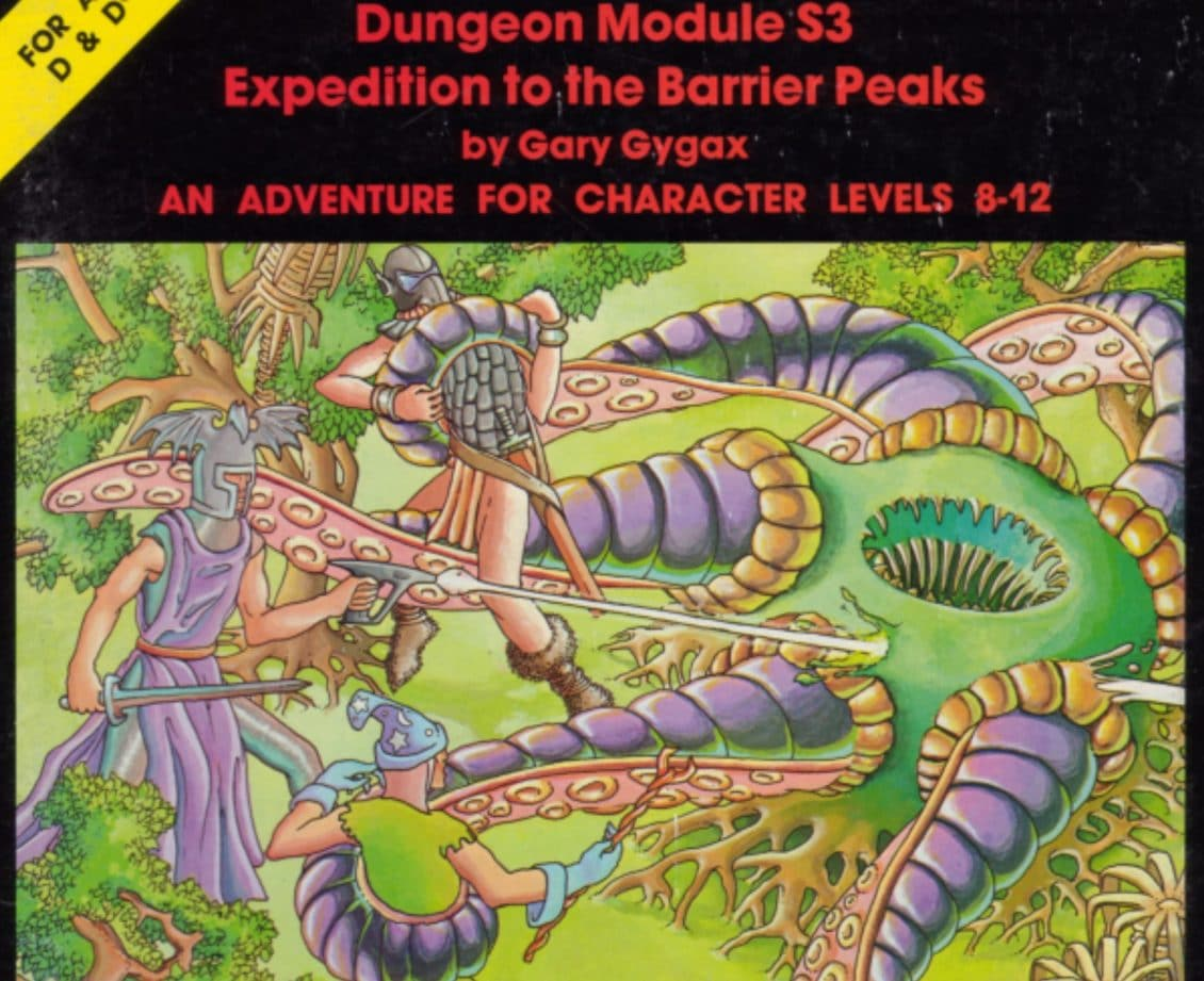 Nerd Nostalgia: Taking an Expedition to the Barrier Peaks, a