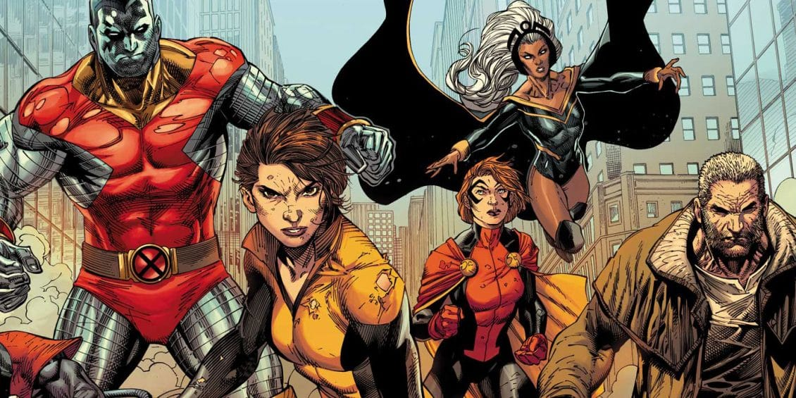 x-men gold #1 team