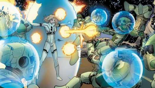 What if the Invisible Woman's powers became, like, a real thing?