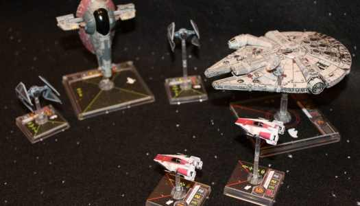 All wings report in! An Introduction to Fantasy Flight's Fantastic X-Wing Game