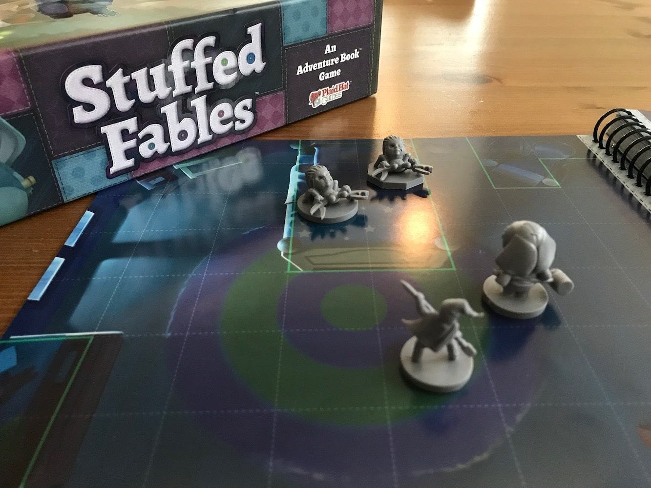 A review of Stuffed Fables, the new board game designed for parents to play with their children. - Nerds on Earth image