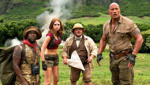 Does The Video Game Theme in Jumanji: Welcome to the Jungle Work?
