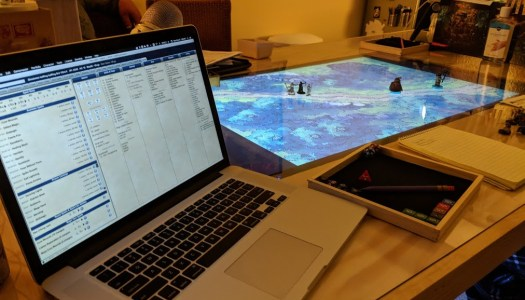 Building a Tabletop Gaming Table