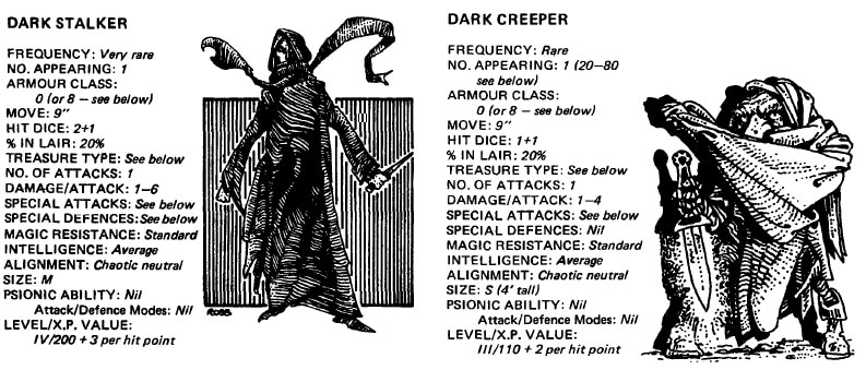 Dark Creeper/Dark Stalker