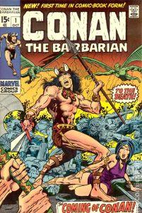 Conan the Barbarian #1 (The Coming of Conan!)