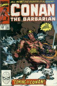 Conan the Barbarian #232-240 (Young Conan)